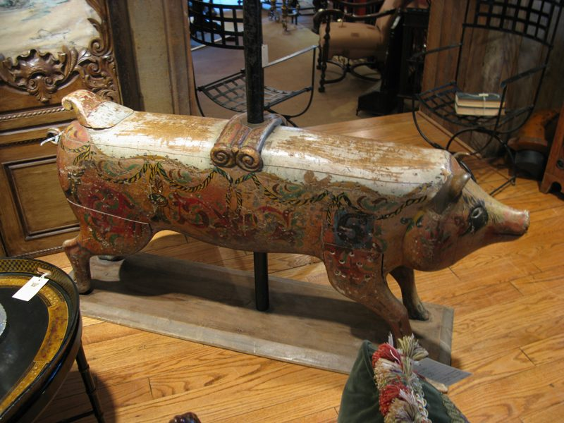 French Carousel Pig