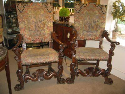 Italian Baroque Chairs 01